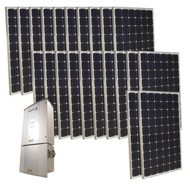Grape Solar 5.5-Kilowatt Grid-Tie Solar Electric Power Kit GS-5500-KIT