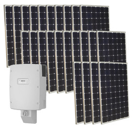 Grape Solar 6-Kilowatt Grid-Tie Solar Electric Power Kit GS-6000-KIT