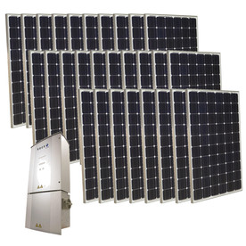 Grape Solar 7-Kilowatt Grid-Tie Solar Electric Power Kit GS-7000-KIT
