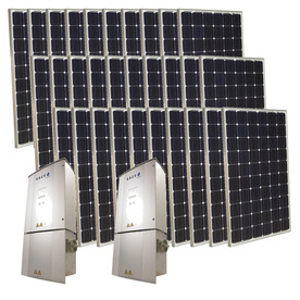 Grape Solar 7.5-Kilowatt Grid-Tie Solar Electric Power Kit GS-7500-KIT