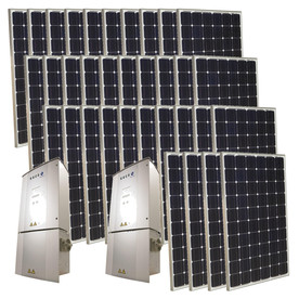 Grape Solar 8.5-Kilowatt Grid-Tie Solar Electric Power Kit GS-8500-KIT