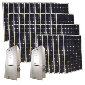 Grape Solar 9-Kilowatt Grid-Tie Solar Electric Power Kit GS-9000-KIT