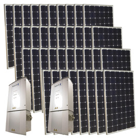 Grape Solar 9.5-Kilowatt Grid-Tie Solar Electric Power Kit GS-9500-KIT