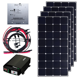 Grape Solar Grape Solar-Volt Portable Solar Power Kit GS-400-KITD