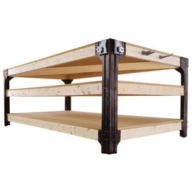 Shop 2x4basics Black Polyresin Workbench Brackets at Lowes.