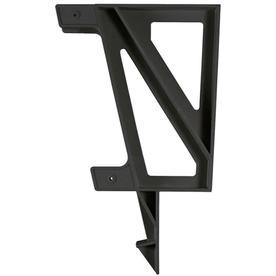 2x4basics Black Polyresin Bench Brackets