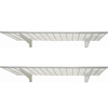 HyLoft 2-Pack Metal Utility Shelving