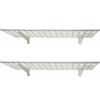 HyLoft 45-in W x 4.25-in H x 15-in D Steel Wall Mounted Shelving