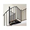 The Iron Shop Ontario 2.5-ft White Painted Wrought Iron Stair Railing Kit