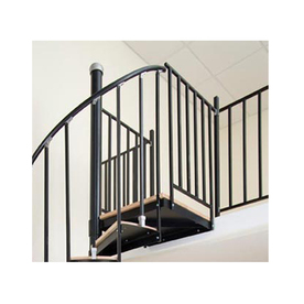 The Iron Shop Ontario 2-ft Gray Painted Wrought Iron Stair Railing Kit