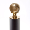 The Iron Shop 5-in Unfinished Brass Ball Top Cap