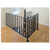 The Iron Shop Elk Grove 3-ft White Painted Wrought Iron Stair Railing Kit