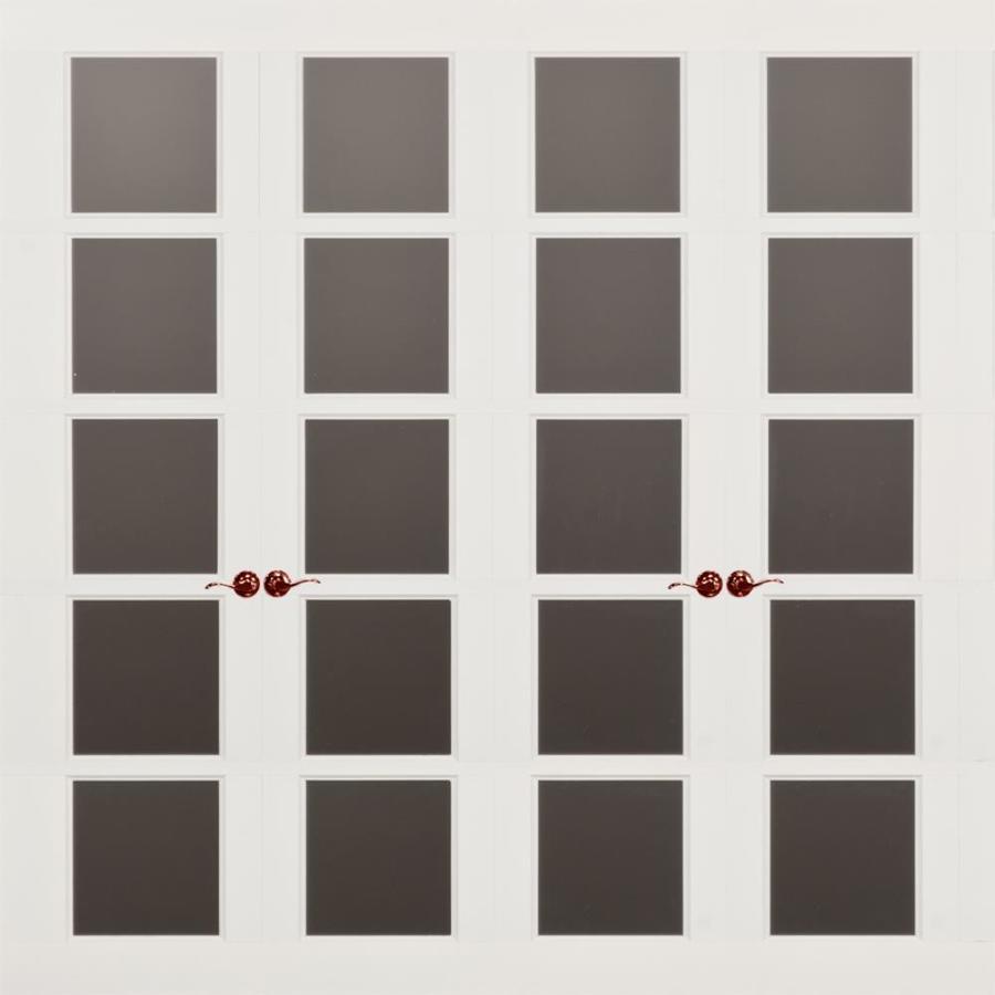 Shop frenchporte christina series 10 ft x 8 ft garage door for 10 x 8 garage door lowes