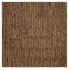 Kraus 20-Pack 19.625-in x 19.625-in Aged Leather Textured Glue-Down Carpet Tile