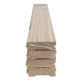 Top Choice Pressure Treated Lumber (Actual: 1-in x 3-1/8-in x 144-in)