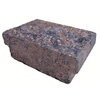 Brown/Charcoal Blend Insignia Edging Stone (Common: 3-in x 9-in; Actual: 2.9-in H x 8.7-in L)