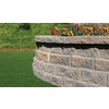 Brown/Charcoal Blend Insignia Concrete Retaining Wall Block (Common: 12-in x 3-in; Actual: 12-in x 2.5-in)