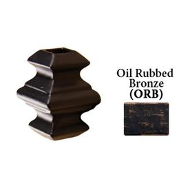 Shop House Of Forgings Square Oil Rubbed Bronze Aluminum