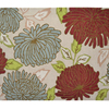 allen + roth Willowton Multicolor/Normal Rectangular Indoor Tufted Area Rug