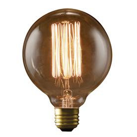 fashion Lighting Vintage 40-Watt Medium Base (E-26) Warm White Dimmable Decorative Incandescent Light Bulb