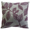 allen + roth 18-in W x 18-in L Grey Square Indoor Decorative Complete Pillow