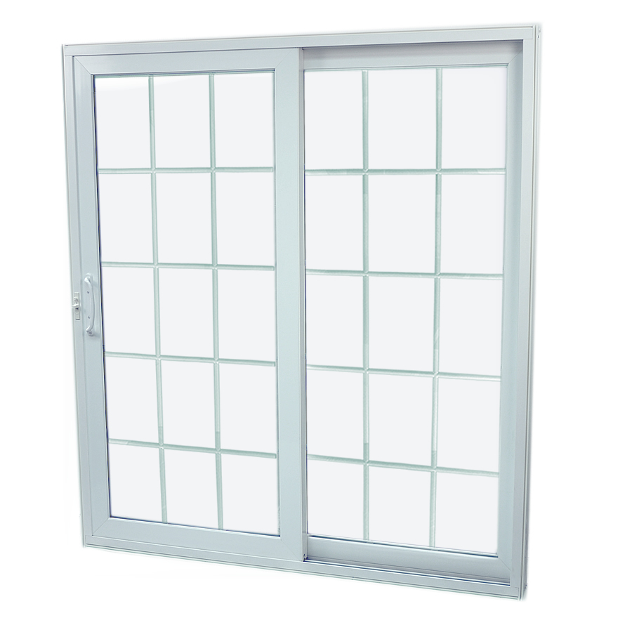 sliding glass patio doors lowes shop securaseal 71 in