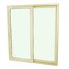 SecuraSeal 71-in Low-E Argon Clear Composite Sliding  Patio Door