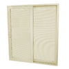 SecuraSeal 71-in Low-E Argon Blinds Between Glass Composite Sliding  Patio Door