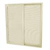SecuraSeal 71-in Low-E Argon Blinds Between Glass Composite Sliding  Patio Door