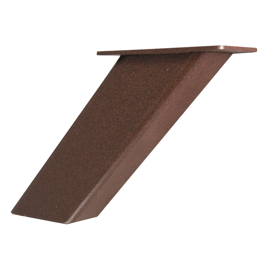 Countertop Brackets : ... Noda 5-in x 2-in x 4-in Bronze Countertop Support Bracket at Lowes.com