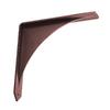 Federal Brace Arrowwood 10-in x 2-in x 10-in Bronze Countertop Support Bracket