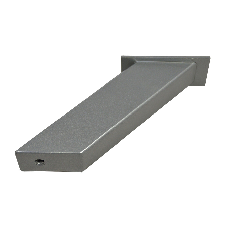 Countertop Brackets : ... in x 2-in x 4-in Plain Steel Countertop Support Bracket at Lowes.com
