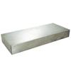 Federal Brace Floating Shelf Kit 3-in x 24-in x 10-in Stainless Steel Wall Bracket