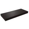 Federal Brace Floating Shelf Kit 2.75-in x 24-in x 10-in Brown Wall Bracket
