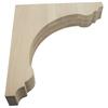 Federal Brace Murray Range Hood Corbel Kit 18-in x 3-in x 16-in Clear Countertop Support Bracket