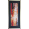 Alpine Art & Mirror 20-in W x 43-in H This David Linanetz Abstract Art Is A Strong Representative Of How The Artist Uses Lines and Circles to Create A Eye Catching Image Framed Art