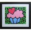 Alpine Art & Mirror 30-in W x 24-in H All About Peace, Love & Cupcakes Framed Wall Art