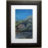 Alpine Art & Mirror David Linanetz Home by the Lake in Rustic Gold Frame