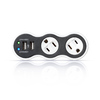 360 Electrical 2-Outlet 306 Joules General Use Surge Protector with Usb Charger Usb Charge