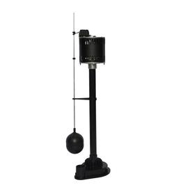 Shop Utilitech 0.33-HP Thermoplastic Pedestal Sump Pump at Lowes.com