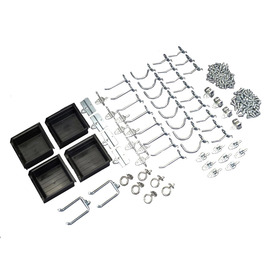 DuraHook DuraHook 60-Pack Steel Assorted Pegboard Hooks