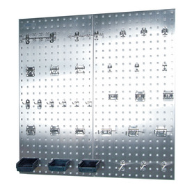 LocBoard 34-Piece Metal Pegboard Kit