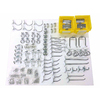 DuraHook DuraHook 83-Pack Steel Assorted Pegboard Hooks