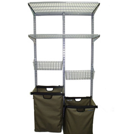 Storability 18.125-in W x 6.5-in H x 34.25-in D Steel Wall Mounted Shelving