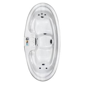 QCA Spas 2-Person Oval Hot Tub