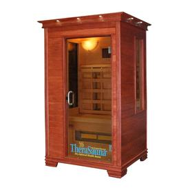 TheraSauna 78-in H x 47-in W x 45-in D Indoor Sauna