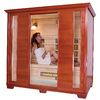 TheraSauna 78-in H x 85.75-in W x 53-in D Indoor Sauna