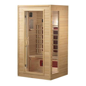 Better Life 72-in H x 39-in W x 35-1/2-in D Hemlock Fir Wood Indoor Sauna
