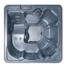 QCA Spas 7-Person Square Hot Tub