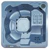 QCA Spas 6-Person Square Hot Tub